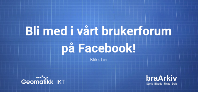 braArkiv brukerforum på Facebook