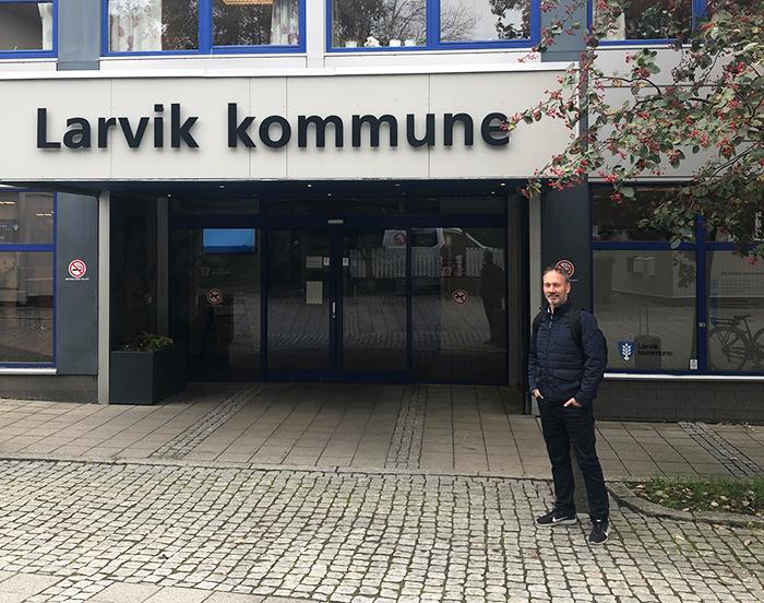 Maskinlæring i Larvik kommune