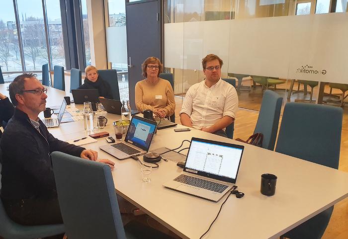 Bærum kommune på besøk hos Geomatikk IKT