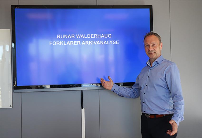 Arkivanalyse med Runar Walderhaug