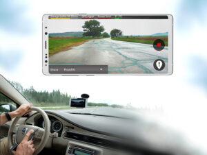 Mobil med road AI