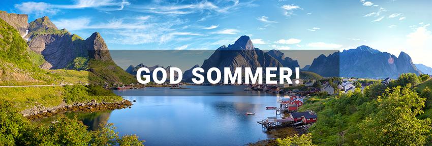 God sommer banner