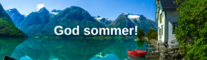 Naturbilde - God sommer, sommerhilsen