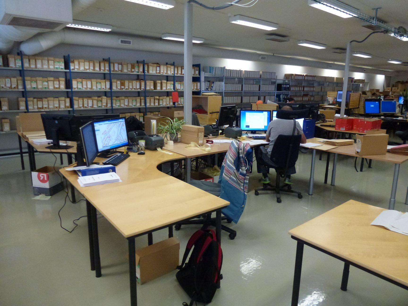 Arbeidsstasjoner - digitaliserinssenter