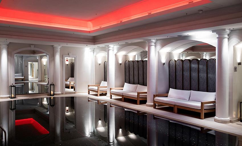Bilde av spa- og fitnessavdelingen på Britannia hotel Trondheim