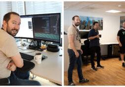 Utviklere på jobb
